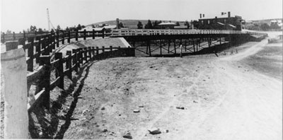 Burra's Bon Accord Bridge soon after construction