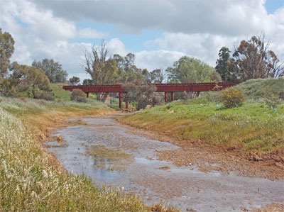 Burra Creek bridge October 2016
