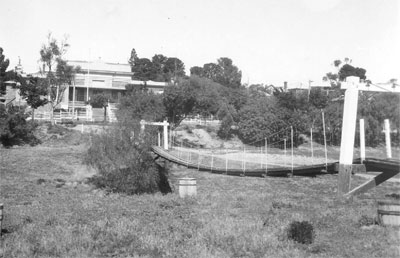 Burra swing bridge late 1920s