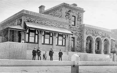 The northern wing of the Burra Post Office was erected in 1911