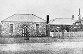 Burra Bible Christian Chapel 1848