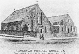 Churches Burra - First Wesleyan Church, 1847