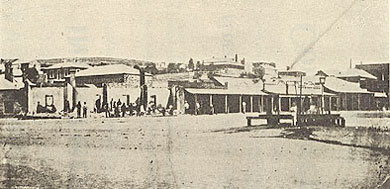 Market Square, Burra, after the 