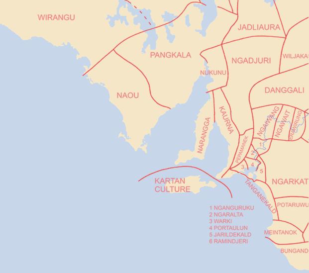 Map Of Australia 20000 Years Ago.Aborigines In Burra