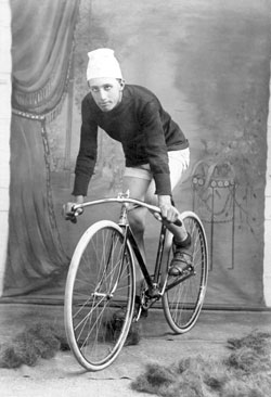 August Pohlner, The Great Northern Champion Cyclist, 1909