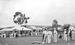 Bowlers at the Burra Bowling Green