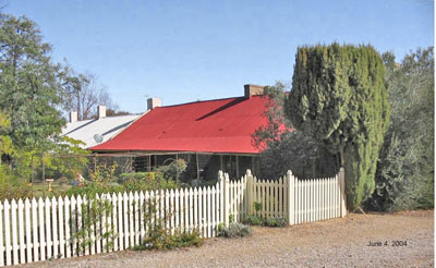 Burra's Smelts Offices and Manager's Residence 1849