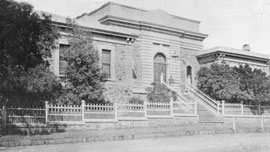 Burra Town Hall 1874