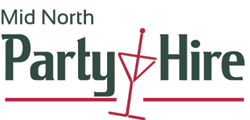 Mid North Party Hire logo