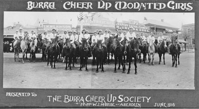Burra Cheer-Up Mounted         Girls